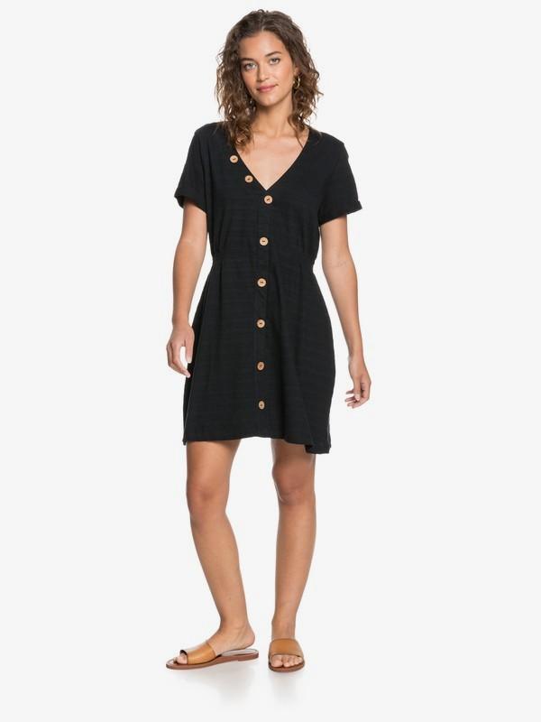 Wave And Tides - Buttoned Short Sleeve Dress  ERJKD03311