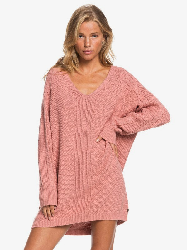 Baby Crush - Oversized Jumper Dress for Women  ERJKD03339