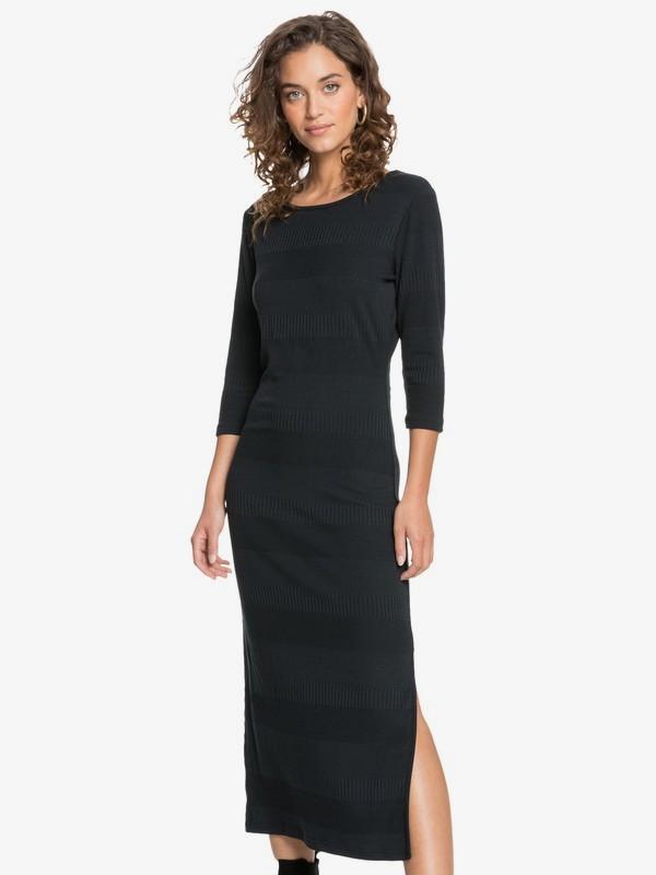 Honey Lips - Long Rib Knit Dress for Women  ERJKD03342