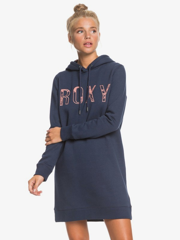 Be Rider - Long Sleeve Hoodie Dress for Women  ERJKD03343