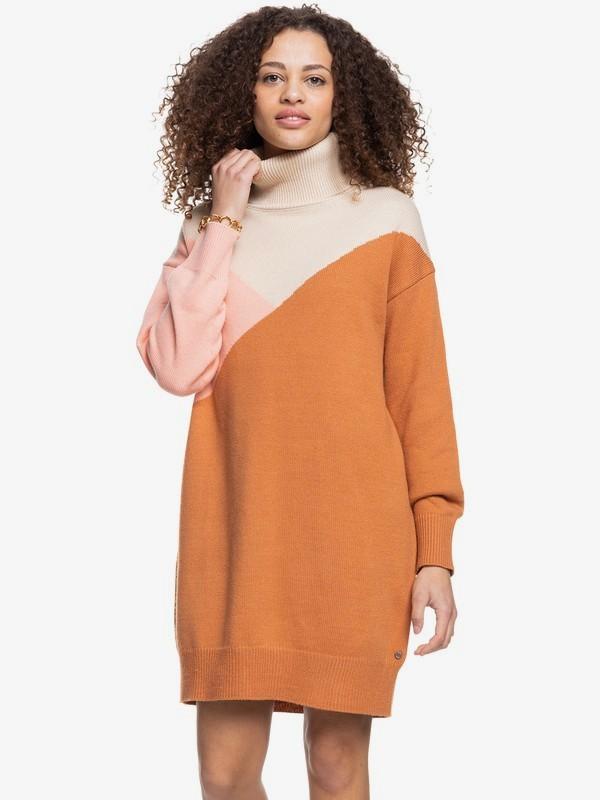 Full Of Colours - Long Sleeve Dress for Women  ERJKD03378
