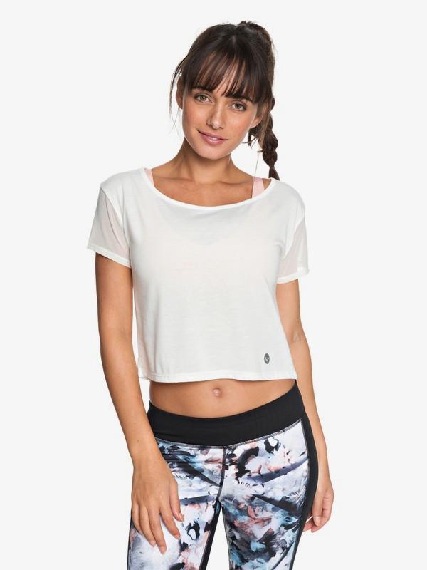 0 Meaning Of Soul - Funktionelles T-Shirt für Frauen Weiss ERJKT03440 Roxy