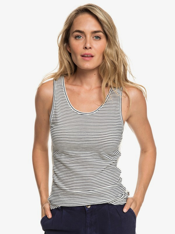 Another Breath Stripe - Vest Top for Women  ERJKT03516