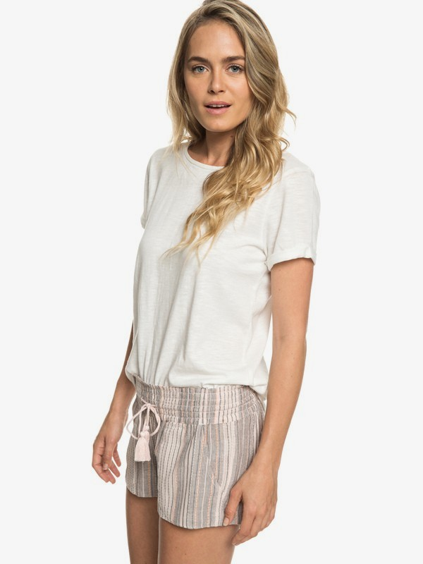 0 West Alley - Camiseta para Mujer Blanco ERJKT03517 Roxy
