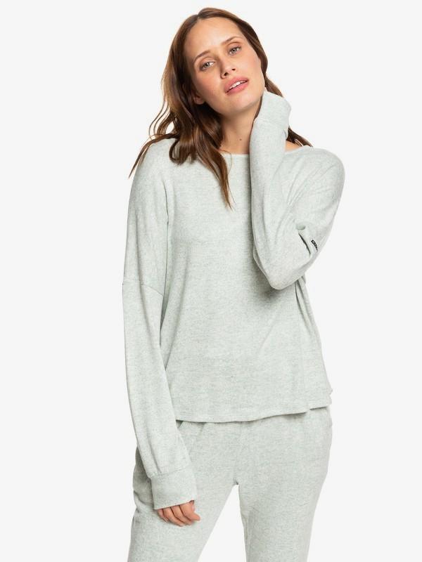 0 Holiday Everyday - Long Sleeve Top for Women Green ERJKT03564 Roxy