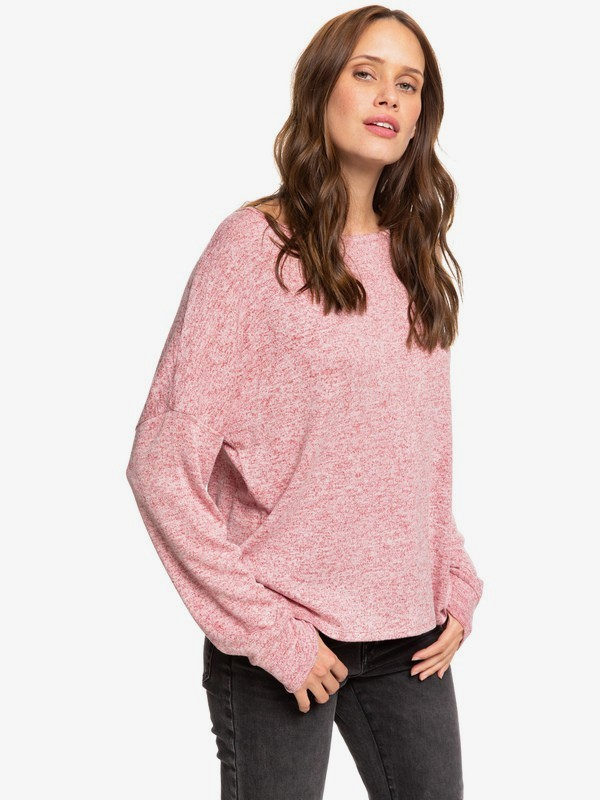 0 Holiday Everyday - Long Sleeve Top for Women Red ERJKT03564 Roxy
