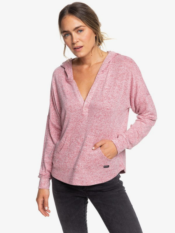 Sweet Thing - Hooded Long Sleeve Top for Women  ERJKT03566
