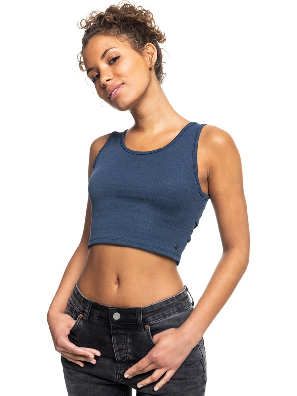 Good Keepsake - Cropped Vest Top for Women  ERJKT03648