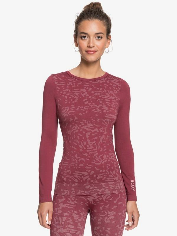 Make My Way - Long Sleeve Base Layer Top for Women  ERJKT03718