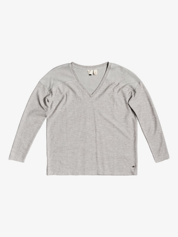 You Gotta Be - Long Sleeve V-Neck Top for Women  ERJKT03742