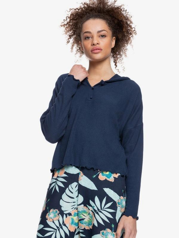 Cozy Day - Long Sleeve Rib Knit Top for Women  ERJKT03796