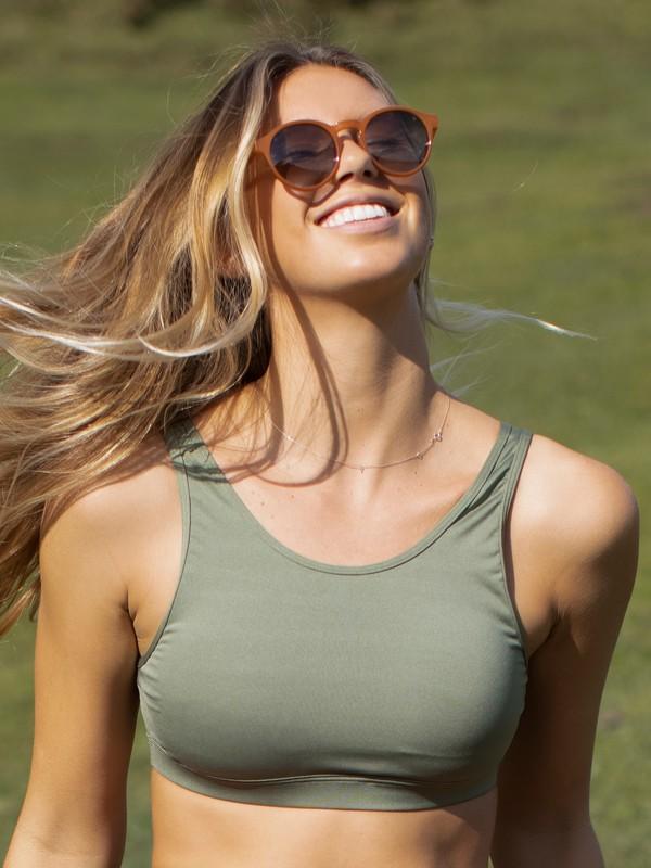 Tropic Sky - Medium Support Sports Bra for Women  ERJKT03806
