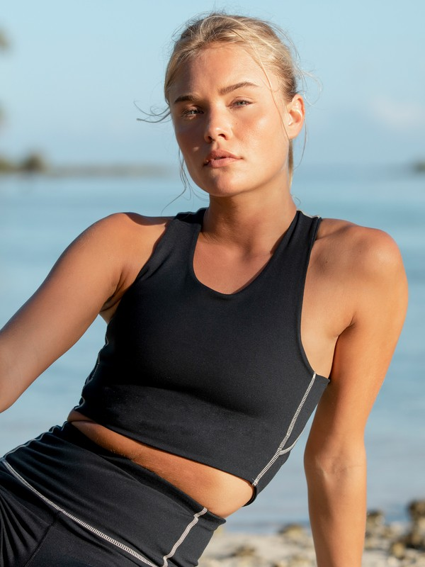 Golden Hours - Medium Support Sports Bra for Women  ERJKT03807