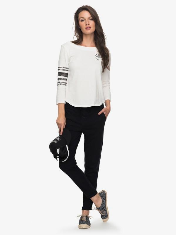 0 Chilling On Sand - Pantalon pour Femme Noir ERJNP03163 Roxy