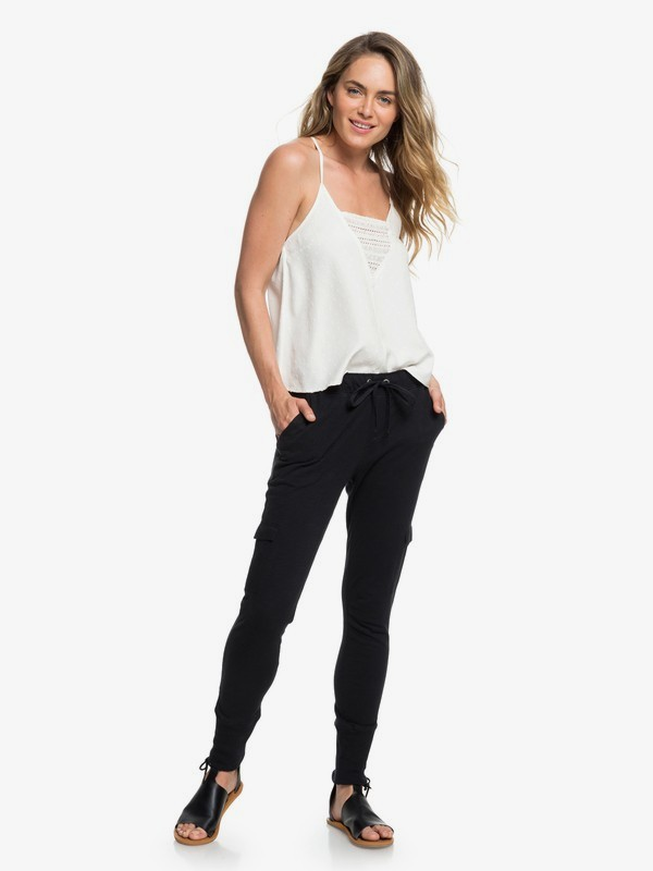 0 Beautiful Rhyme Joggers Black ERJNP03205 Roxy