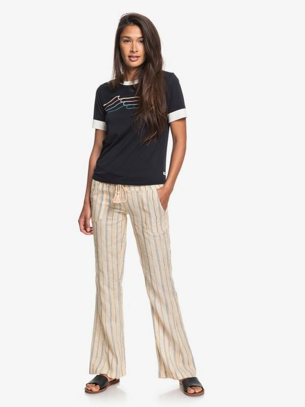 Oceanside - Flared Beach Pants for Women  ERJNP03297