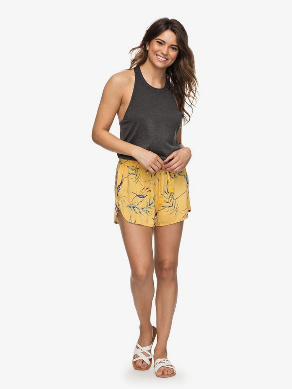 0 Rum Cay Beach Shorts Yellow ERJNS03163 Roxy