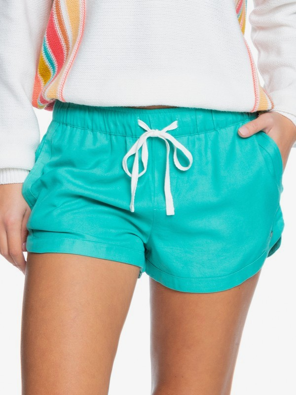 New Impossible Love - Viscose Shorts for Women  ERJNS03266