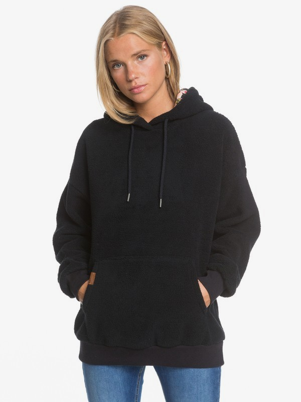 By The Lighthouse - Sherpa Hoodie for Women  ERJPF03057