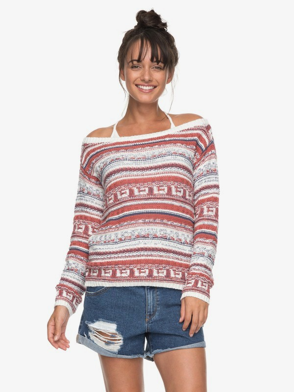 0 Cold Is Coming Knitted Sweatshirt  ERJSW03228 Roxy