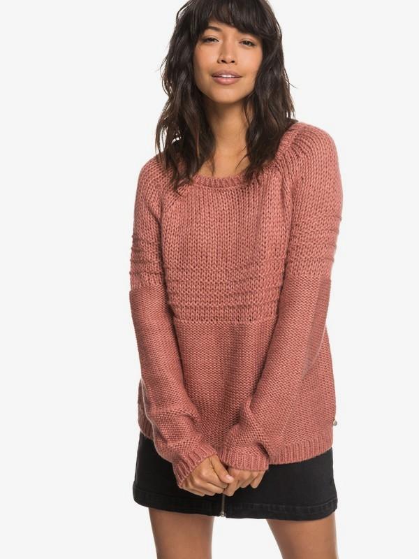 0 Urban Stories - Pullover für Frauen Rosa ERJSW03274 Roxy