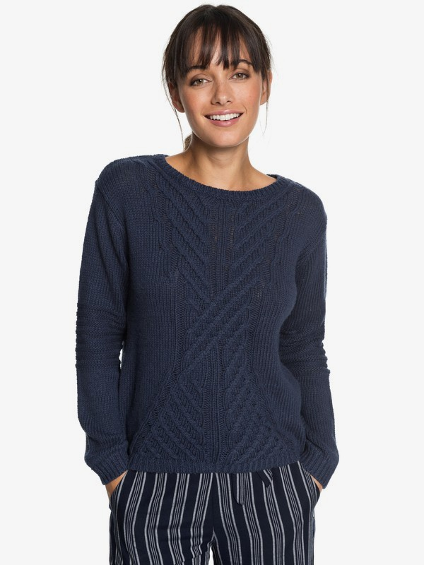 0 Glimpse Of Romance - Jumper Blue ERJSW03276 Roxy