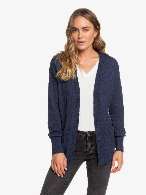 0 Valley Shades Cardigan Blue ERJSW03330 Roxy