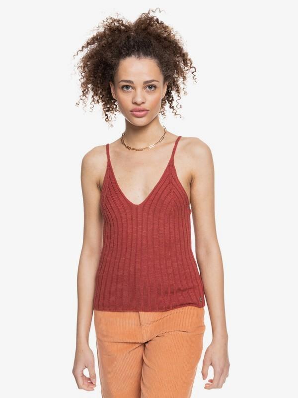 Moon Bird - Knitted Vest Top for Women  ERJSW03404