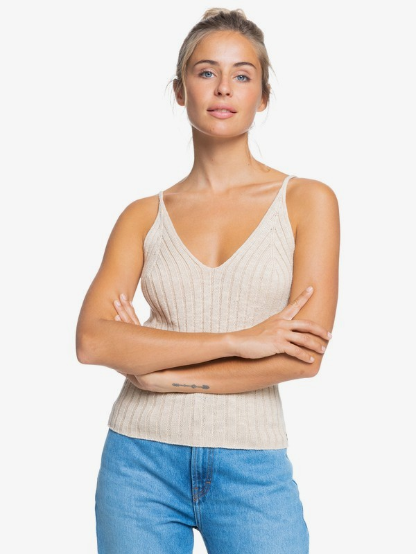 Moon Bird - Knitted Vest Top for Women  ERJSW03404