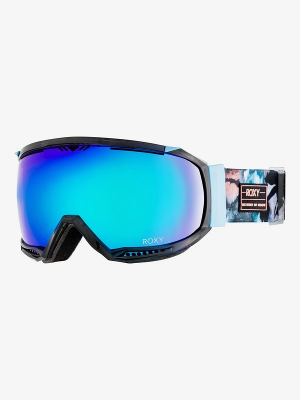 0 Hubble - Ski-/Snowboardbrille für Frauen Blau ERJTG03054 Roxy