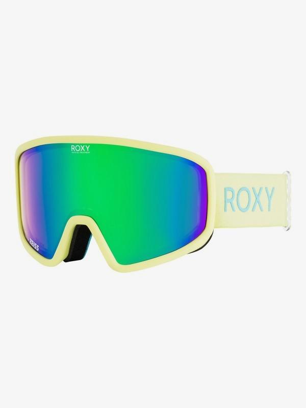 0 Feenity - Máscara para esquí/snowboard para Mujer Verde ERJTG03061 Roxy