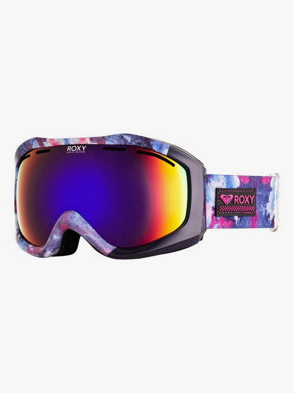 0 Sunset Art Series Snowboard/Ski Goggles Blue ERJTG03107 Roxy