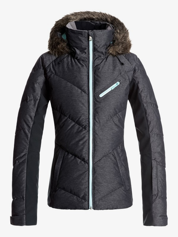 0 Snowstorm - Chaqueta Para Nieve para Mujer Negro ERJTJ03105 Roxy
