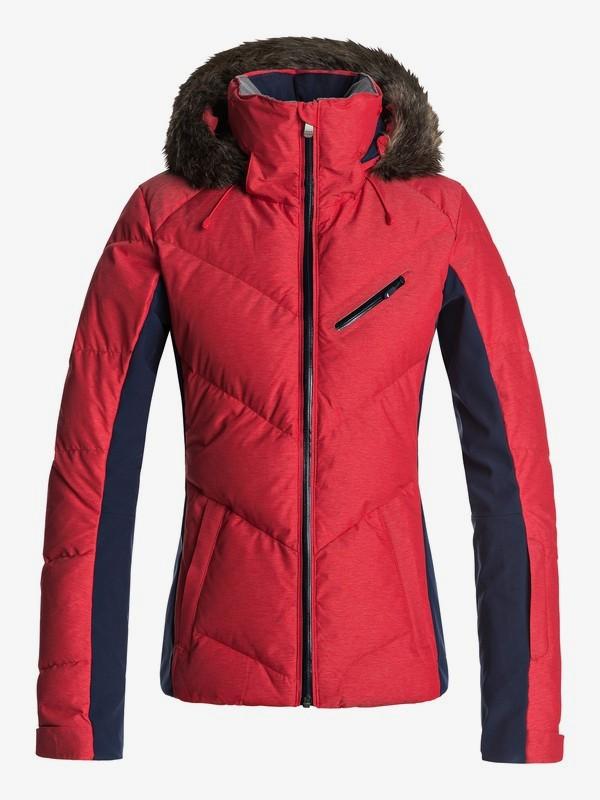 0 Snowstorm - Chaqueta Para Nieve para Mujer Rojo ERJTJ03105 Roxy
