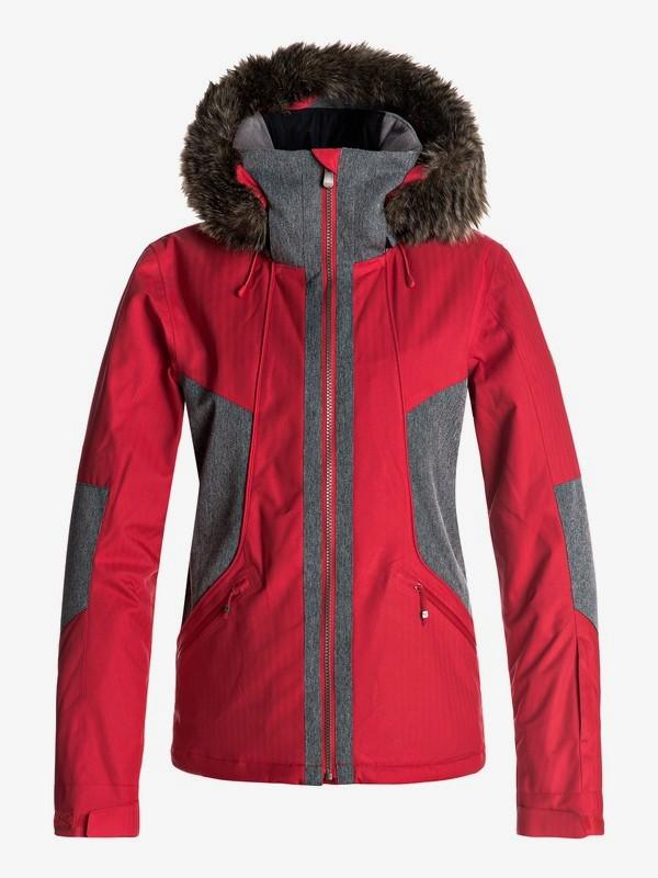0 Atmosphere - Chaqueta Para Nieve para Mujer Rojo ERJTJ03108 Roxy
