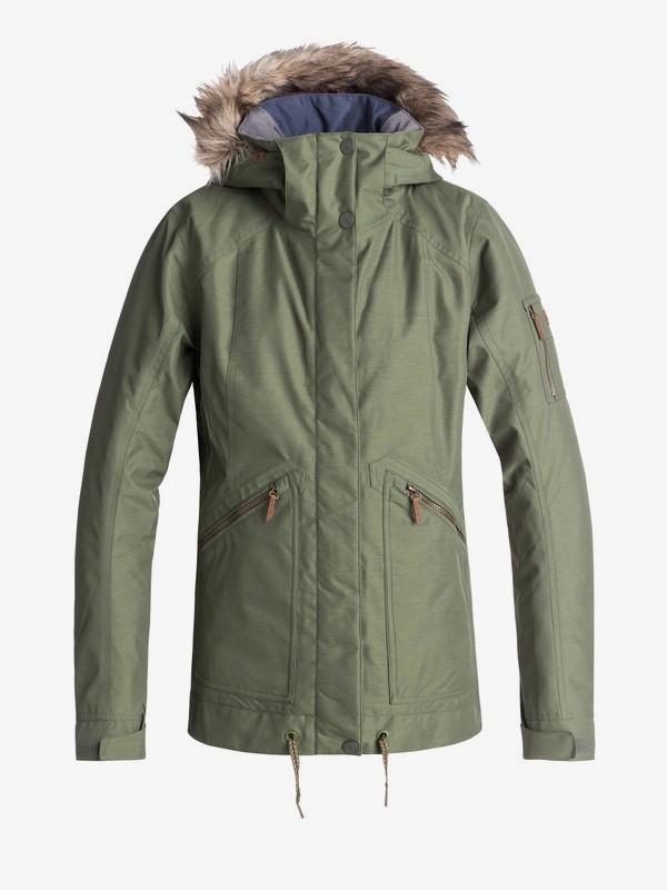 0 Meade - Veste de snow pour Femme Vert ERJTJ03172 Roxy