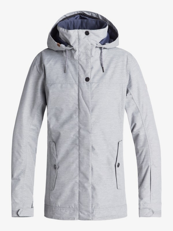0 Billie - Snow Jacket for Women Grey ERJTJ03174 Roxy