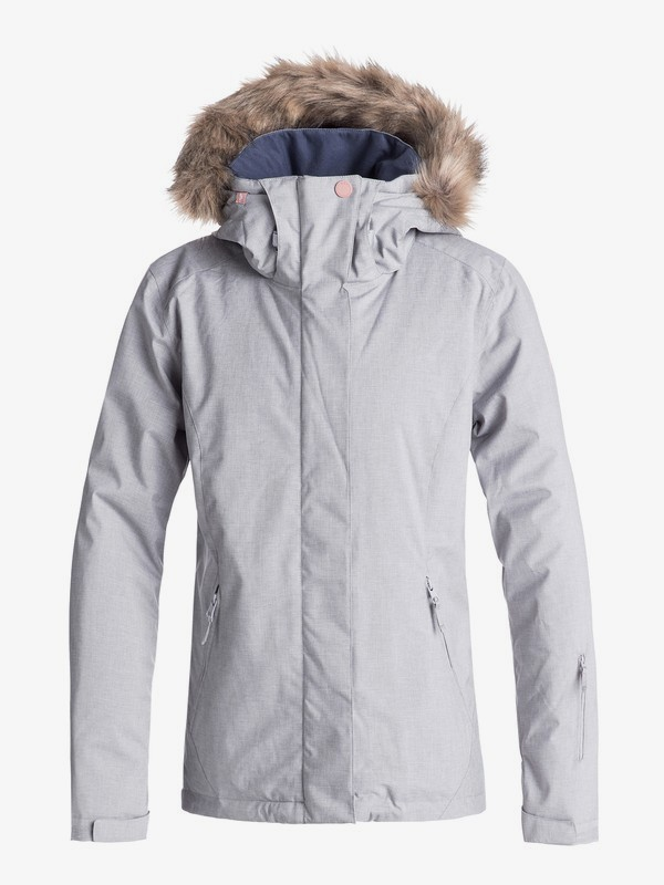 0 Jet Ski - Snow Jacket for Women Grey ERJTJ03181 Roxy