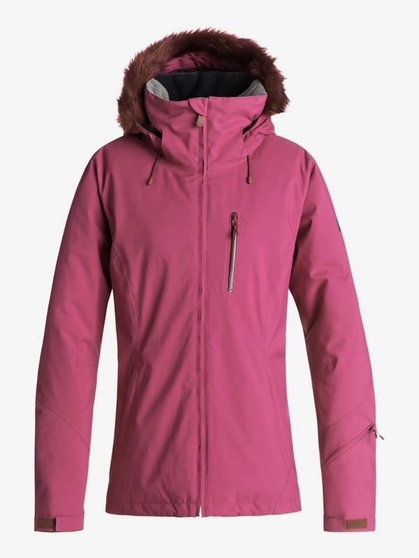 0 Down The Line - Chaqueta Para Nieve para Mujer Rojo ERJTJ03185 Roxy