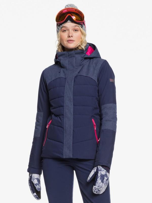 0 Dakota Snow Jacket Blue ERJTJ03220 Roxy