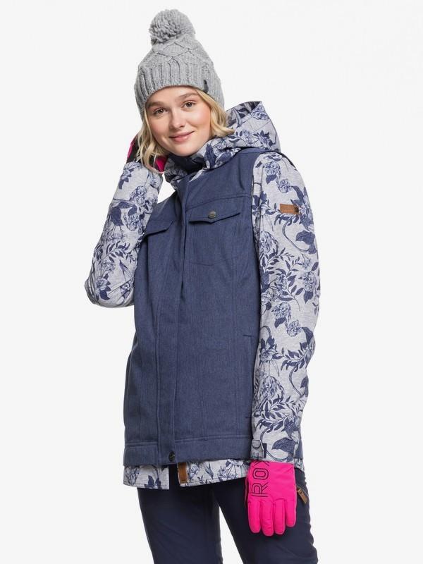 0 Ceder Snow Jacket Grey ERJTJ03230 Roxy