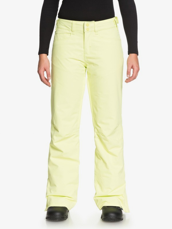 0 Backyard Snow Pants Green ERJTP03056 Roxy