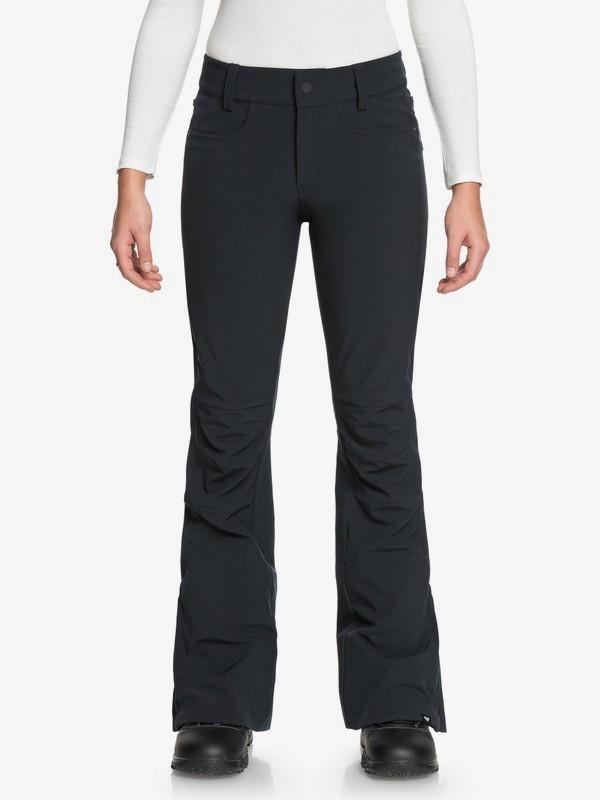 0 Creek - Pantalon de snow pour Femme Noir ERJTP03060 Roxy
