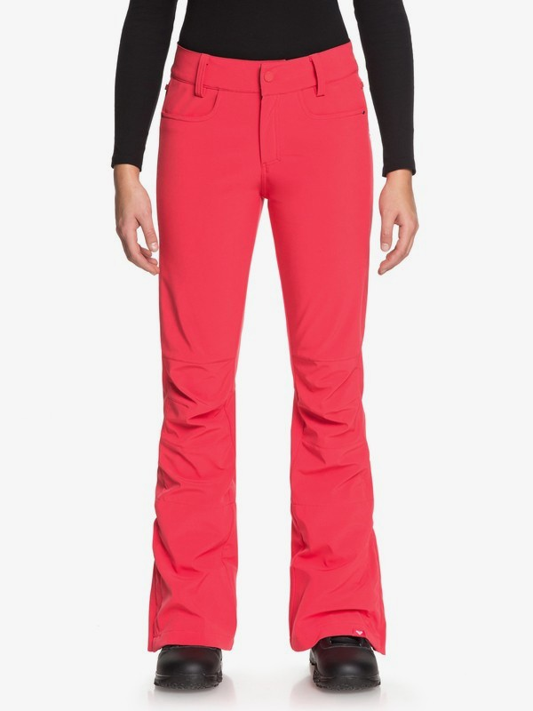 0 Creek - Shell Snow Pants for Women Pink ERJTP03060 Roxy