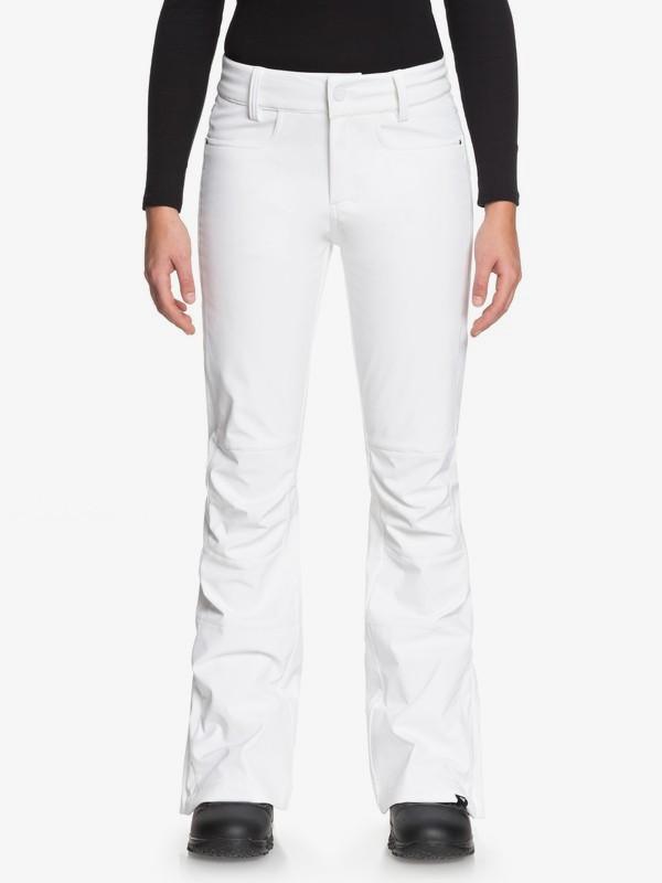 0 Creek - Pantalon de snow pour Femme Blanc ERJTP03060 Roxy