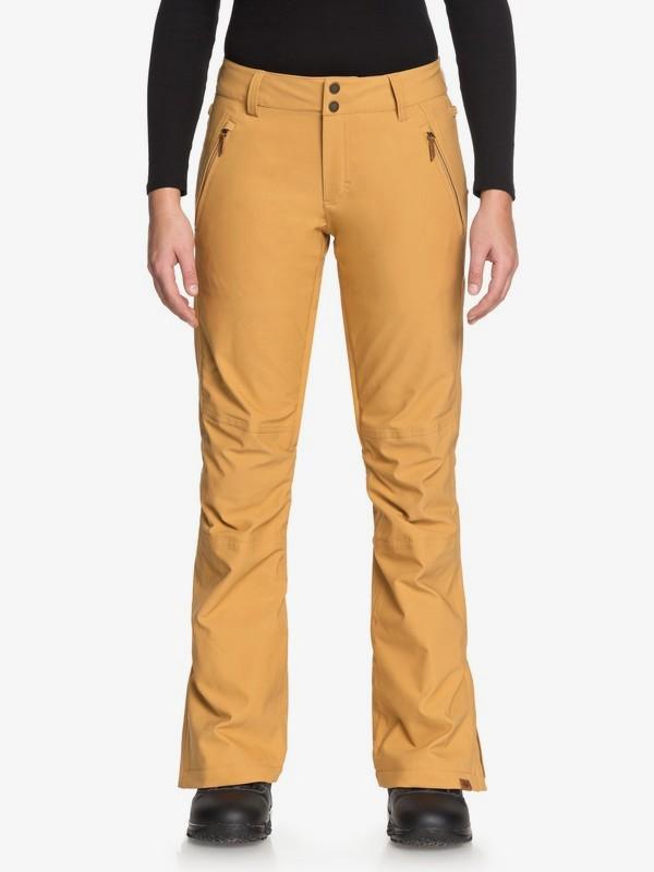 0 Cabin - Pantalon de snow pour Femme Marron ERJTP03061 Roxy
