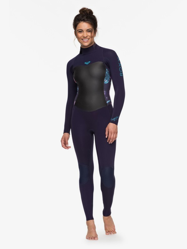 0 3/2mm Syncro Series Back Zip GBS Wetsuit Blue ERJW103024 Roxy