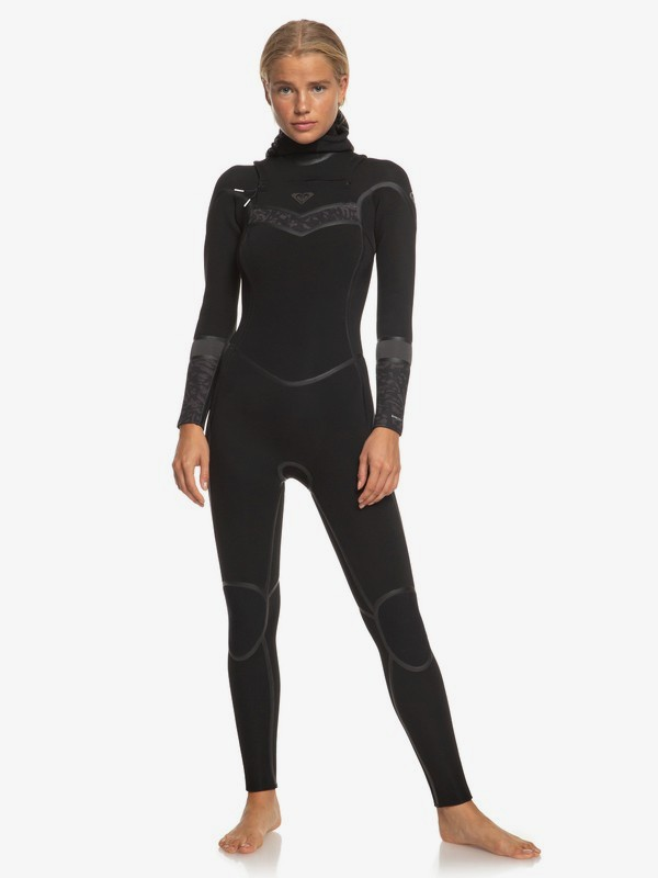 5/4/3mm Syncro Plus - Hooded Chest Zip Wetsuit for Women ERJW203007
