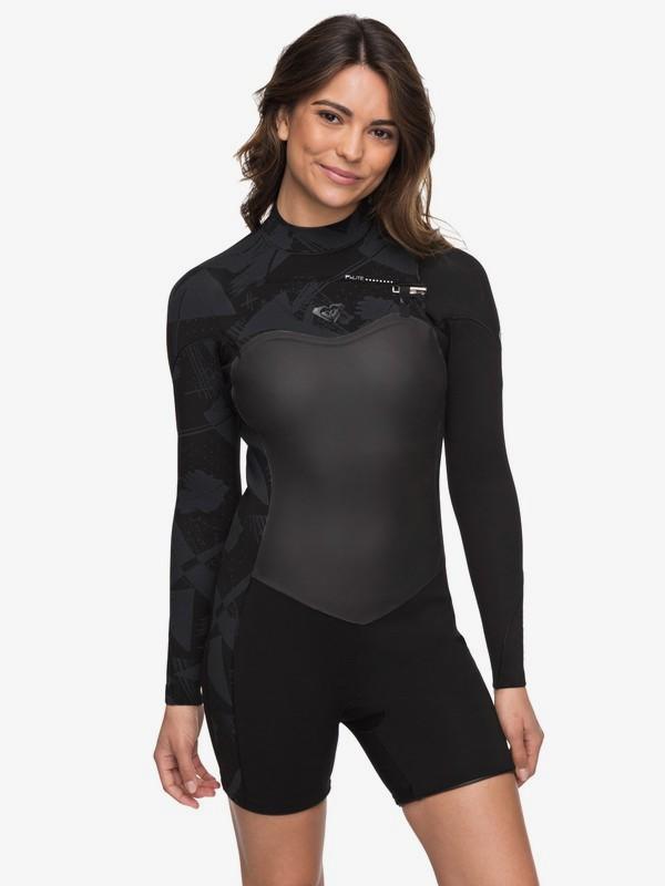 2/2mm Performance - Long Sleeve Chest Zip Springsuit for Women  ERJW403009