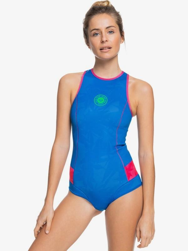 1mm POP Surf - Bikini Cut Back Zip Springsuit for Women  ERJW603017